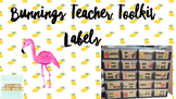 Bunnings Teacher Toolkit Editable Labels Tropical #ausbts18