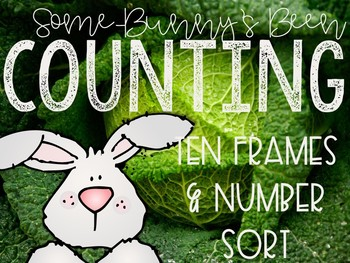 Bunny Counting Activities