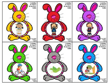 Bunny Activities for Vocabulary, Functions, and Grammar Skills