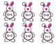 Bunny Addition Flashcards 0-9 Math Facts