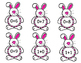 Bunny Addition Flashcards 0-9 Math Facts