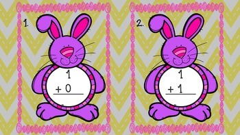 Addition Write the Room Bunny Theme