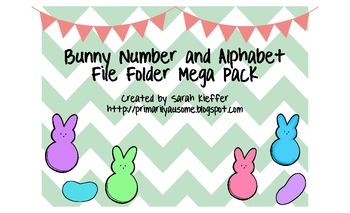 Bunny Alphabet and Number Sense File Folder Mega Pack (Aut