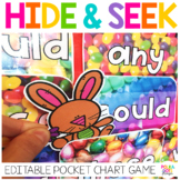 Bunny Alphabet and Sight Word Game