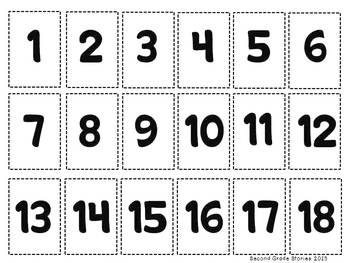 Bunny BINGO set 2 - addition and subtraction facts