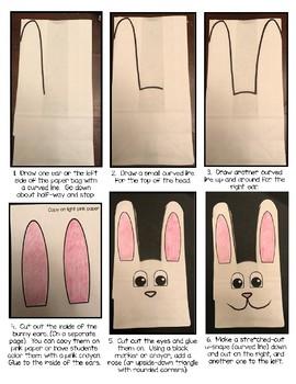 Bunny Bags - Easter Craftivity {FREEBIE}
