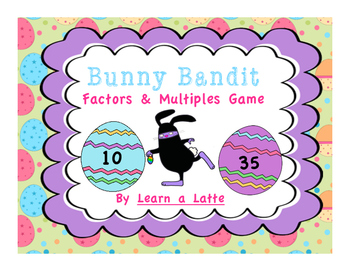 Bunny Bandit - Factors and Multiples Game