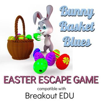 Bunny Basket Blues Easter Breakout / Escape Game for Primary Grades