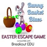 Bunny Basket Blues Easter Breakout / Escape Game for Prima