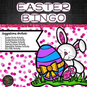 Easter Activities:  Bunny Bingo