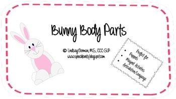 Bunny Body Parts