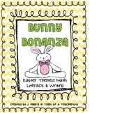 Bunny Bonanza {Easter Themed Math, Literacy, & Writing}