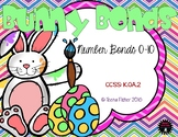 Bunny Bonds Number Bonds Kindergarten Part Part Whole Addition Easter