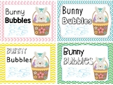 Bunny Bubbles Free Printable Tag