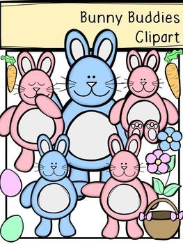 Bunny Buddies Clipart