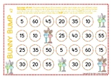 Easter Bunny Bump Multiplication Skip Counting by Fives