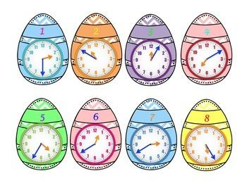 Bunny Bundle Telling time