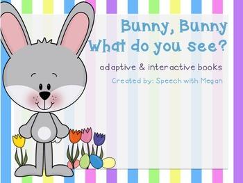 Bunny, Bunny: Adaptive & Interactive Easter Book Set of 3