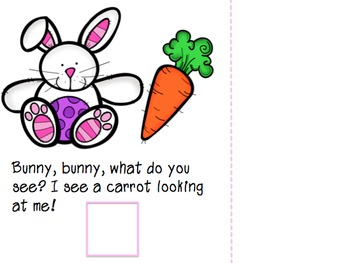 Bunny, Bunny What Do You See? An Adapted Easter / Spring Book