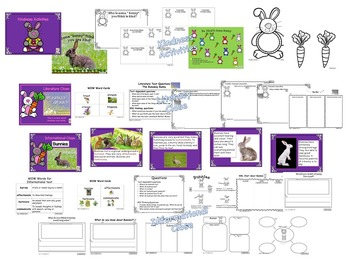 Kindness-Bunny Burrow of Activities - Kiddos Connect All-Year to Kindness
