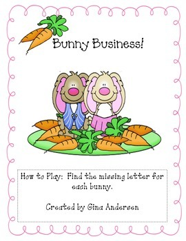 Bunny Business-ABC Order