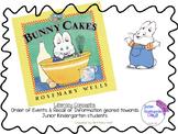 Bunny Cakes Literacy Activity