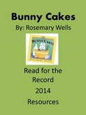 Bunny Cakes - Read for the Record 2014 - Resource Pack