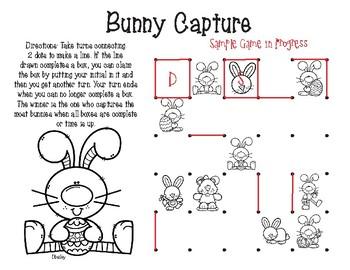 Bunny Capture/ Tic-Tac-Basket
