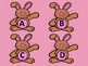 Bunny Centers-Letters, Numbers, and Nonsense Words