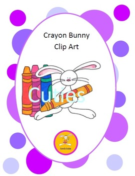 Bunny Clip Art - in full color and black line