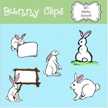 Bunny Clips by Karen Morris