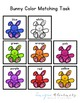 Bunny Colors Matching Folder Game for students with Autism