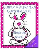 Bunny Common & Proper Noun Word Sort