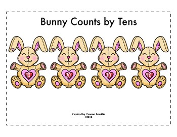 Bunny Counts by Tens