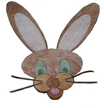 Bunny Craft Template PDF