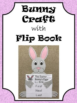 Bunny Craft with Sequencing Flip Book