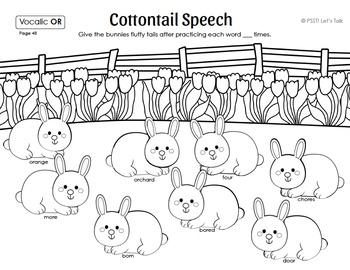 Bunny Craftivity: Articulation