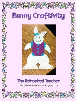 Bunny Craftivity (Easter Spring)