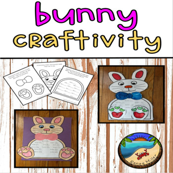 March Activities: Bunny +4 Math Facts