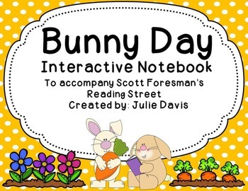 Bunny Day Interactive Notebook Journal