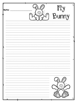 Bunny Descriptive Writing