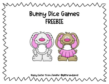 Bunny Dice Games FREEBIE