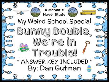 Bunny Double, We're in Trouble! (Dan Gutman) Novel Study /