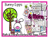Bunny Eggs Center Bag Box Unit - Preschool & Kindergarten - Easter