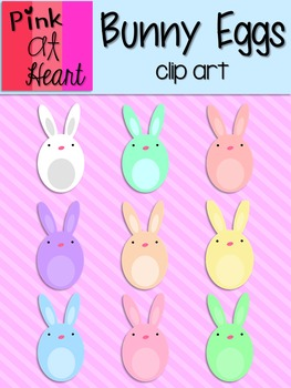 Bunny Eggs Clip Art