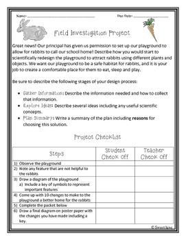 Bunny Habitat Field Investigation