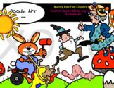 Bunny Foo Foo Clip Art Pack