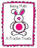 Bunny Fractions Freebie