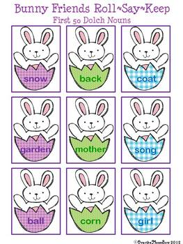 Bunny Friends Literacy & Math Activity 4 Pack