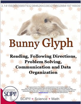Bunny Glyph for Spring or Easter (with questions)